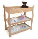 Natural-Sleigh-Baby-Changing-Table