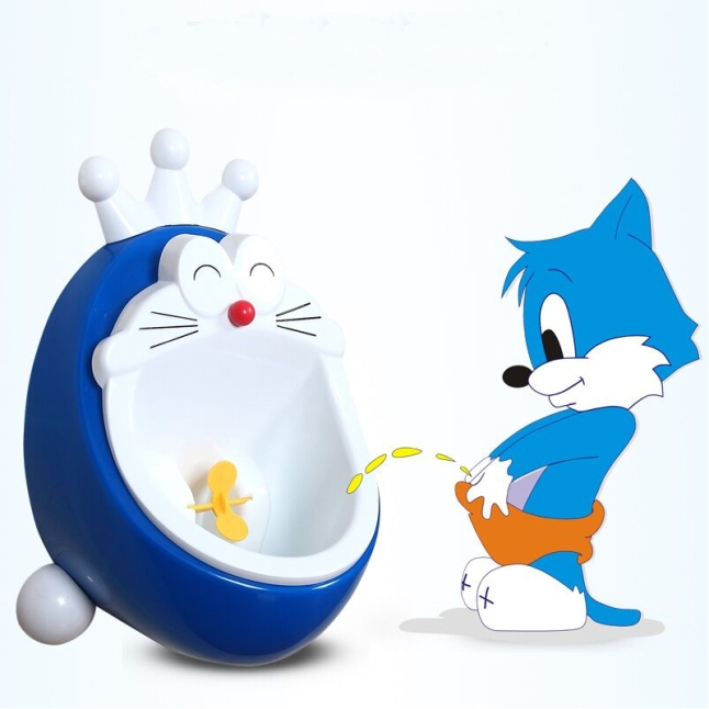 Lovely-Cartoon-doraemon-Children-Potty-Urinal-Pee-Toilet-wall-hung-kids-toilet-portable-potty-Training-Boy